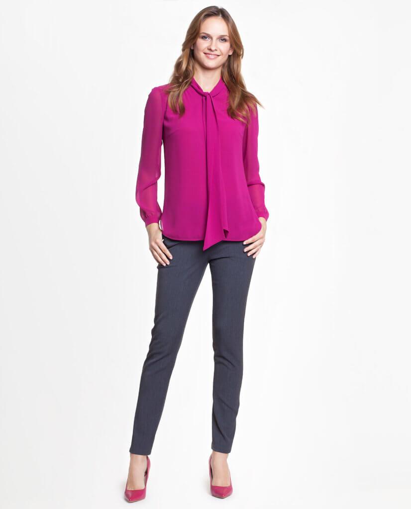 Eleganckie bluzki do pracy/dla businesswoman