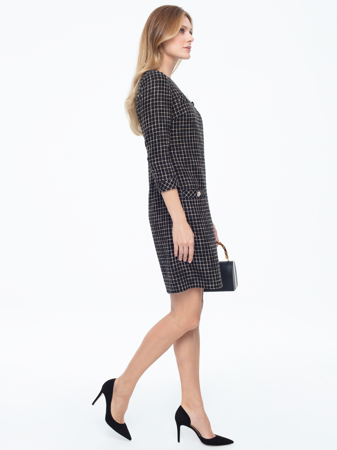 Trapezowa biznesowa sukienka Miriam